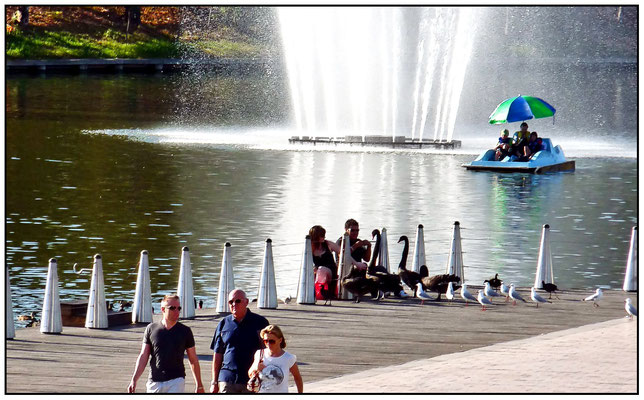 Elder Park, entlang dem River Torrens.