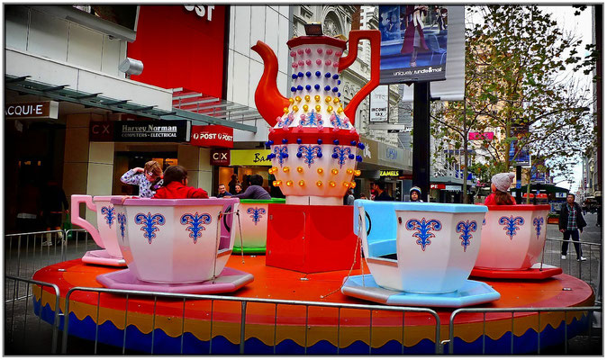 Karusell in der Rundle Mall