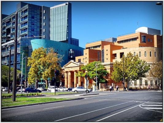 Gericht von Adelaide.The Magistrates Court.