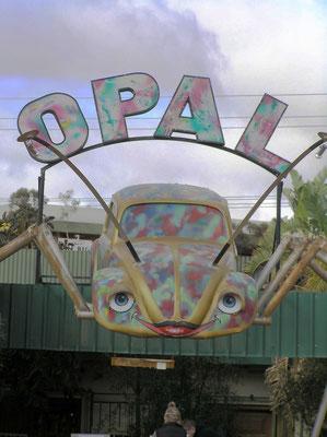Einer von vielen Opalshops in Coober Pedy