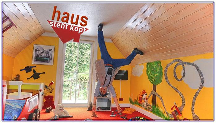 Haus steht Kopf in Terfens Tirol