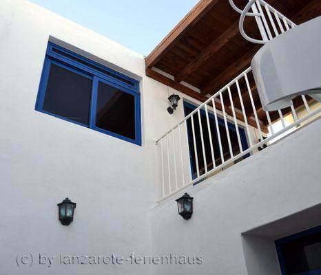 Blick zur oberen Etage
