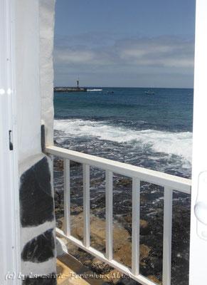 Salon del Mar Aussicht Miniterrasse