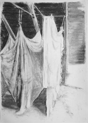 Vorhang, Zeichnung
