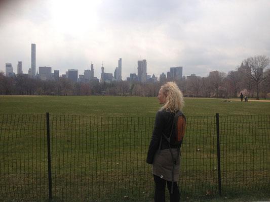 endlich im Central Park