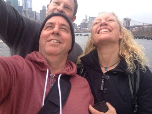 Todd Isler und Ingrid mit mir