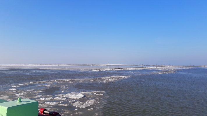 Norderney Eisschollen