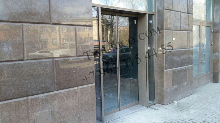 Фасадное остекление. Автоматические раздвижные двери. +7 963 315 44 55