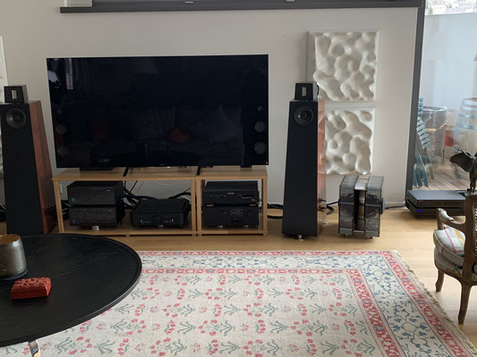 ModalAkustik MusikBass RiPol Subwoofer schwarz acryl Kaiser