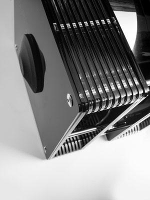 Modalakustik MusikBass Ripol Subwoofer Ripolsubwoofer Ridtahler Musicsubwoofer black acrylic