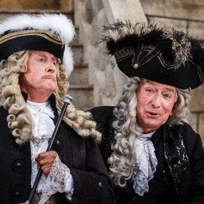 """Heinz Zednik (rechts) und Ernst-Dieter Suttheimer bei den Seefestspielen Mörbisch in """"Eine Nacht in Venedig"""" / Foto@Seefestspiele Mörbisch"""
