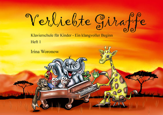 """Verliebte Giraffe """"Heft 1"""""""