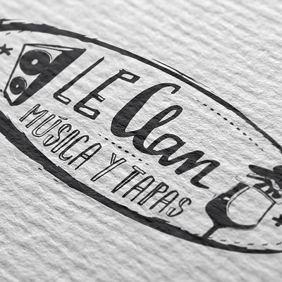 Visual Identity Le Clan