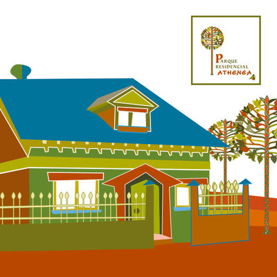Parque Residencial Athenea. Visual identity