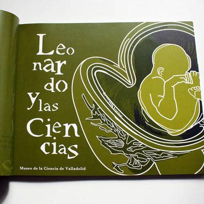 Leonardo Genio Universal exhibition visual identity