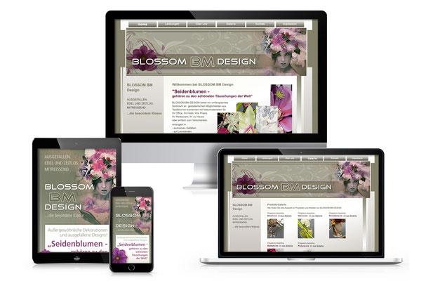 Website-webdesign-homepage-Blossom-design-seidenblumen-grafik-thielen