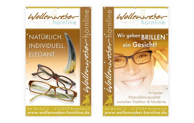 rollup-display-wollenweber-brillenmanufaktor-hornbrillen-logodesign-logogestaltung-grafik-thielen