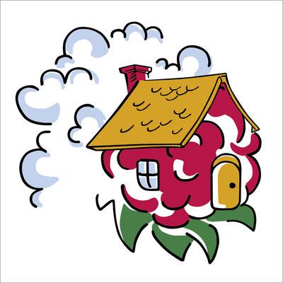 016-himbeere-haeuschen-wolken-grafik-thielen-grafikdesign-logodesign-webdesign-bilddesign