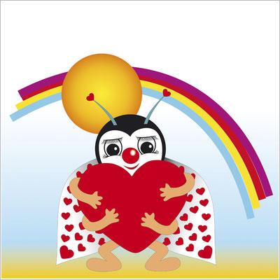 004-liebeskaefer-sonne-regenbogen-grafik-thielen-grafikdesign-logodesign-webdesign-bilddesign