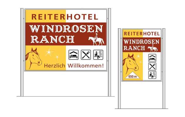 windrosenranch-hinweisschilder-logodesign-logogestaltung-grafikdesign-webdesign-grafik-thielen