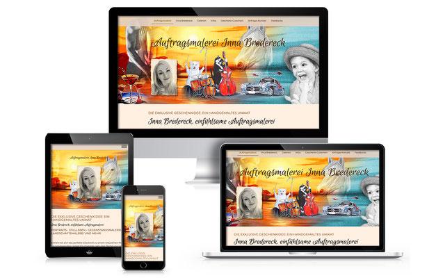 Website-webdesign-homepage-Auftragsmalerei-Inna-Bredereck-design-grafik-thielen