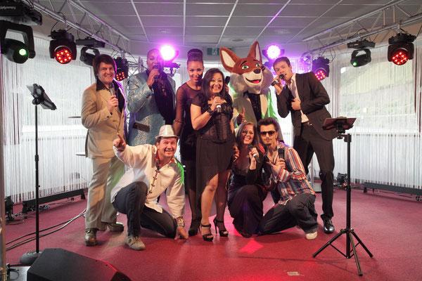 70ger Jahre Show für Schwäbisch Hall in Bingen auf dem Rhein