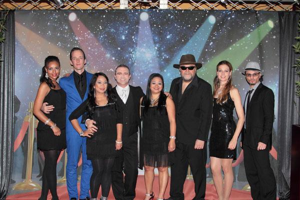 tourage in der Show Stars on the Red Carpet in Braunschweig