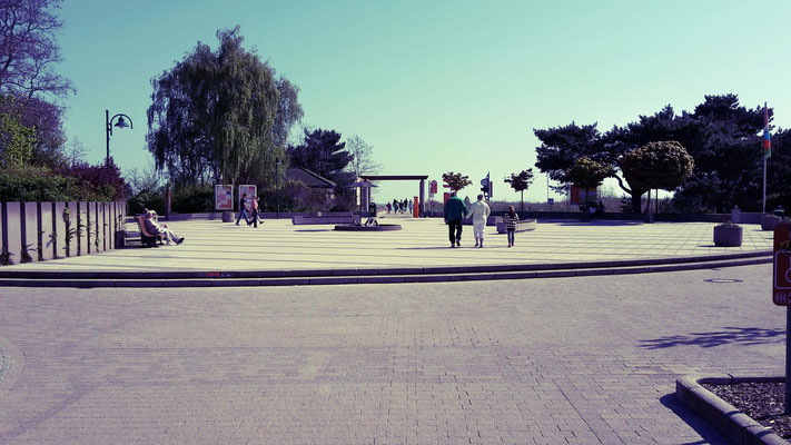 Strandvorplatz