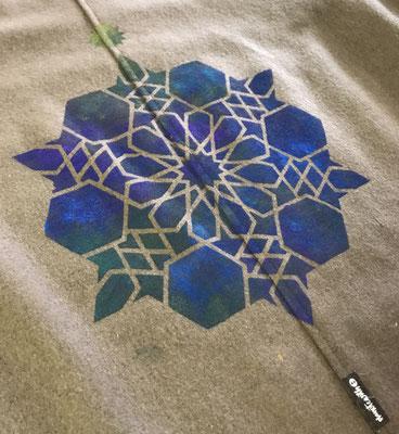 イスラム幾何学のステンシル