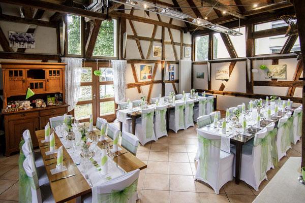Hochzeit in der Kelter in Notzingen