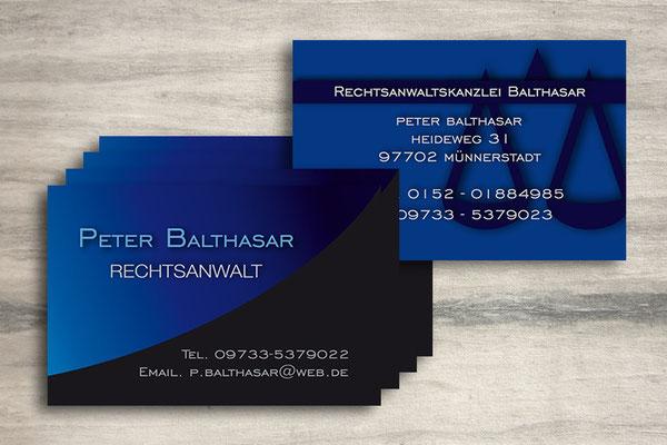 Business Card - Visitenkarten individuell gestaltet - Layouts für Werbemittel aller Art - Corporate Design für Ihr Unternehmen