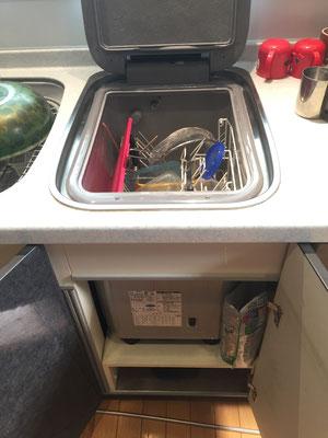 トップオープン食洗機