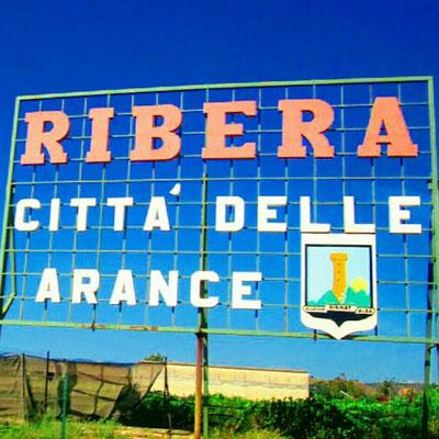 entrata città di Ribera
