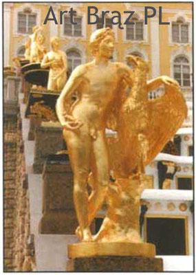 Art Brąz - Schloss Petershof bei st. Petersburg - bei den Kaskaden