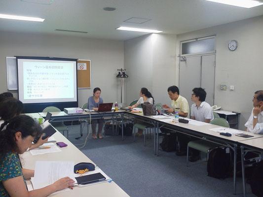 オペラ/音楽劇キーワーズ 第8回の様子(金山咲恵氏)