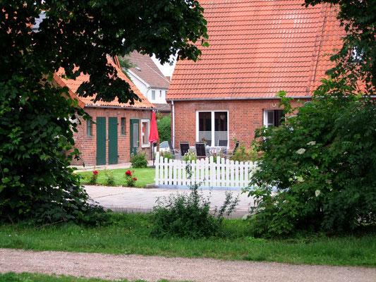 Blick auf das Haus am Stadtpark