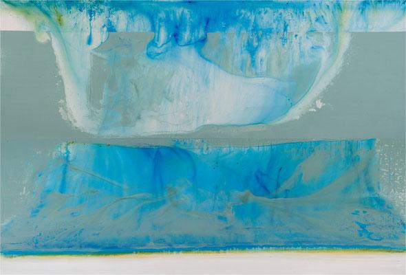 Atoll - Acryl auf Leinwand 280 x 180 cm - HUF Haus Art 9 Musterhaus Hartenfels