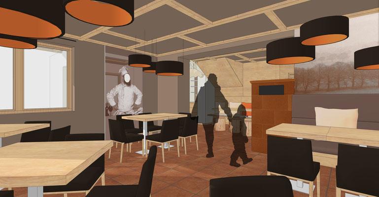 Einrichtung Gaststätte - Speisesaal