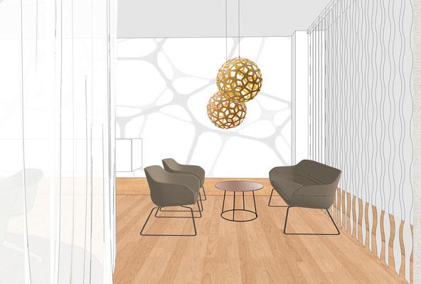 Perspektive Konferenzraum - Variante 2