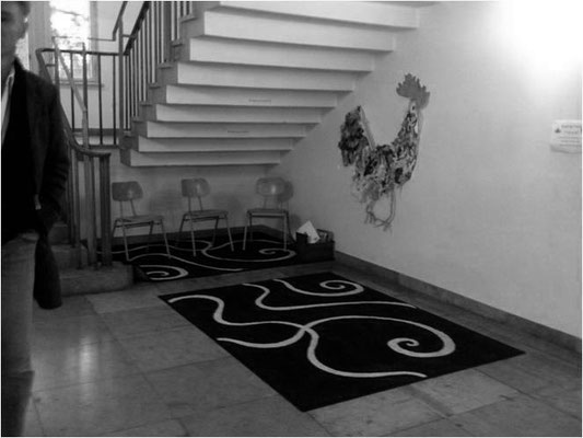 Bereich unter den Treppen - bevor