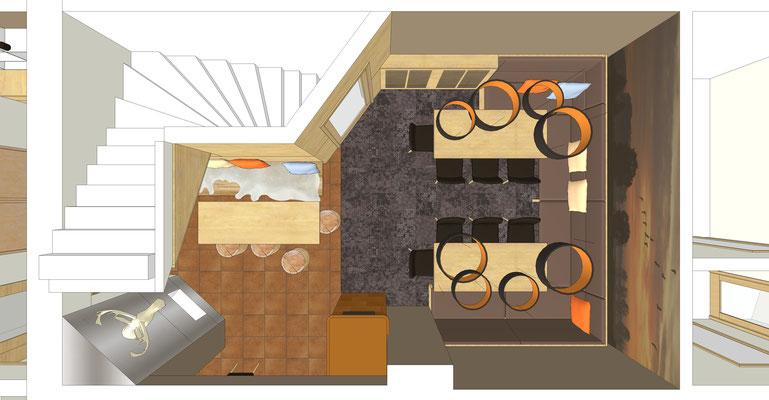 Einrichtung Gaststätte - Lounge