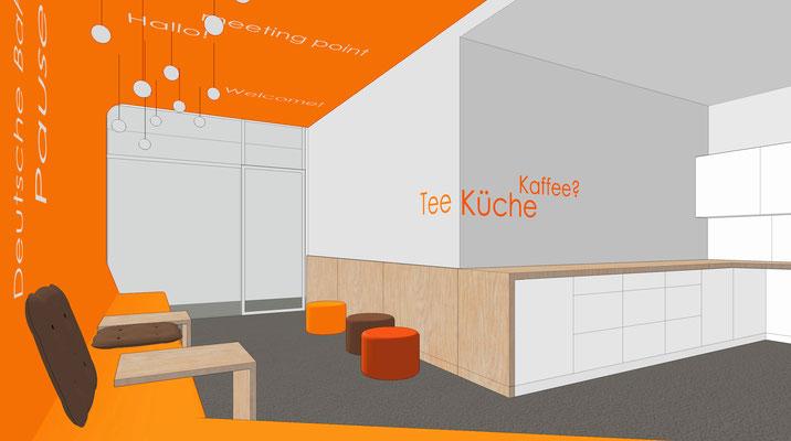 Deutsche Bahn Wettbewerb - Meeting Point OG 3 (Akzentfarbe orange)