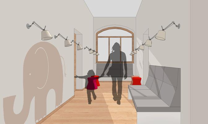 Praxis für Kinder- und Jugendpsychiatrie, Cottbus - Flur
