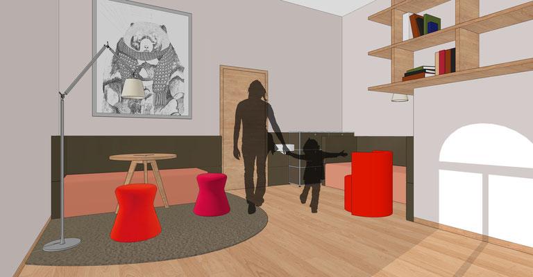 Praxis für Kinder- und Jugendpsychiatrie, Cottbus - Büro 1