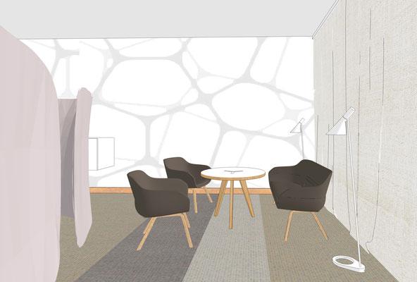 Perspektive Konferenzraum - Variante 1