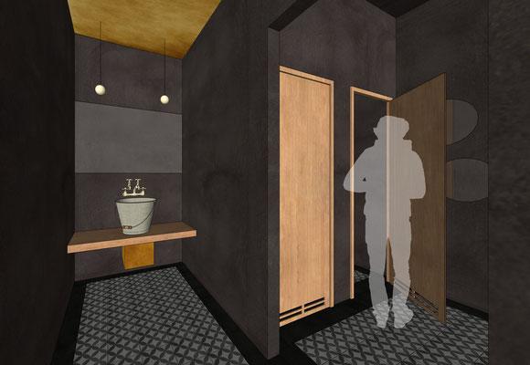 Restaurant Drogerie - Gäste-WCs