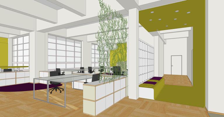 Firma Media Company, Berlin - Bibliothek