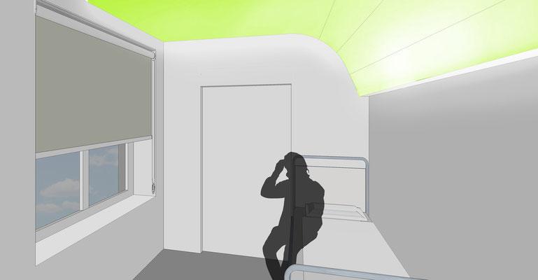 Aufwachraum -Variante 2