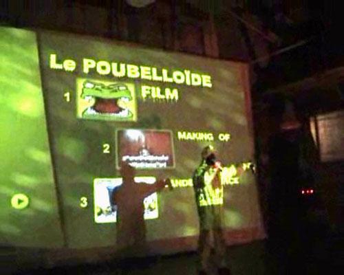 Le Poubelloïde à l'écran!