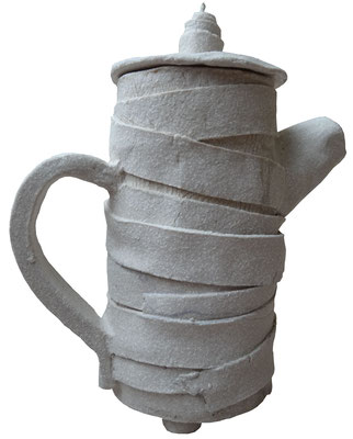 """""""Teekanne (für medizinisches Personal)"""" Ton  H=16cm"""